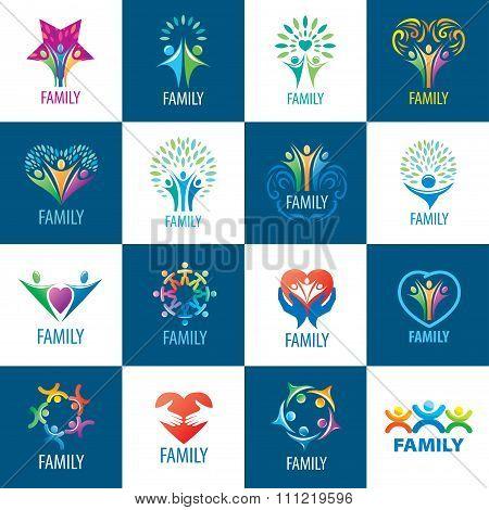 set logos family