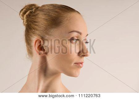 Young Modern Ballet Dancer