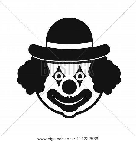 Clown simple icon