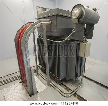 Large Industrial Transformer