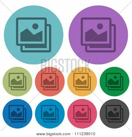 Color Images Flat Icons