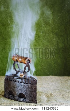 Steaming Hot Iron