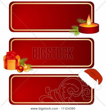 Tres tabletas de Navidad