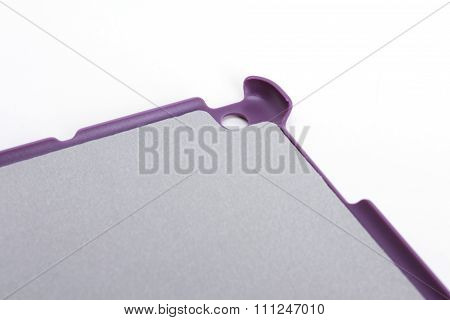 Case for tablet. white background