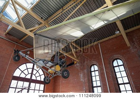 Powered Hang Glider At The Technical Museum In Togliatti, Russia