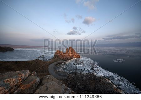 BAIKAL LAKE nature ladscapes / Olkhon island
