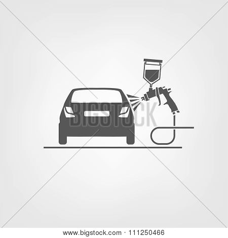 Paint-spray gun vector