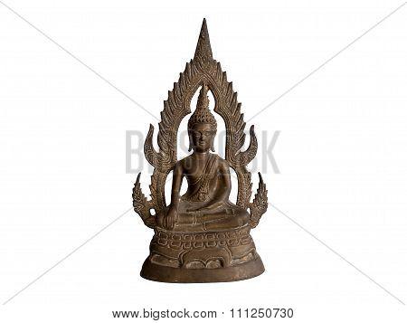 Buddha In Buddhist Thailand.