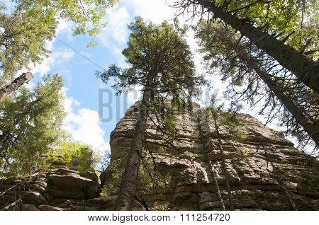 Group of rocks Three brothers. Taganay. Southern Urals-4