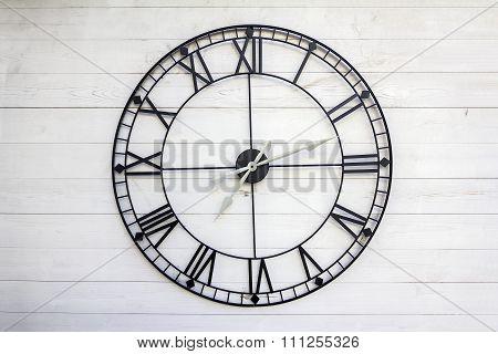 Old Roman Numeral Clock