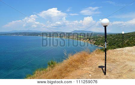 messinian gulf landscape Greece