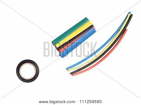 Colored Heat Shrink Tubing And Duct Tape