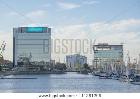 Modern Architecture In Puerto Madero Buenos Aires Argentina-