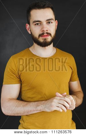 Portrait Of A Young And Athletic Guy