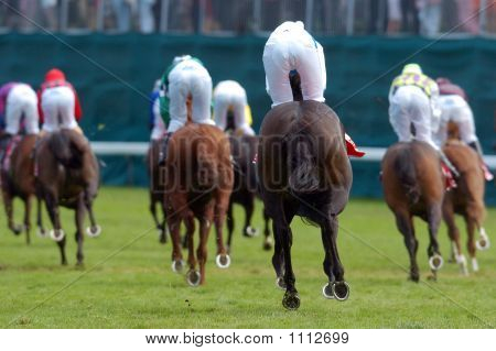 Jockeys On Horses 01