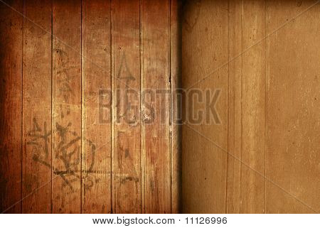 wood grungy background