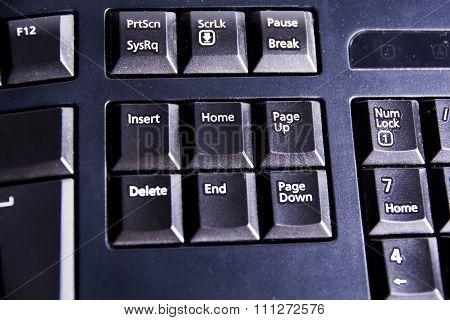 Home Delete End Vs
