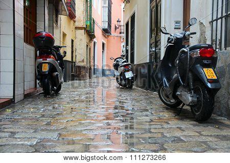 Seville Street, Spain