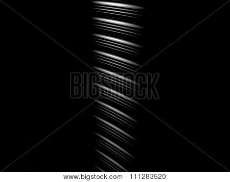 White Stripes On Black Background