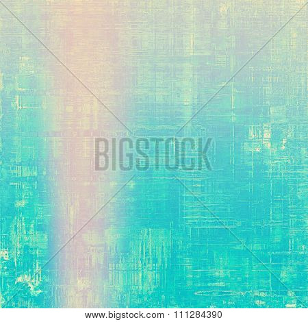 Grunge old-school texture, background for design. With different color patterns: blue; purple (violet); pink; cyan