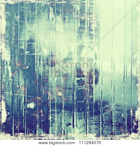 Old background with delicate abstract texture. With different color patterns: blue; purple (violet); gray; cyan