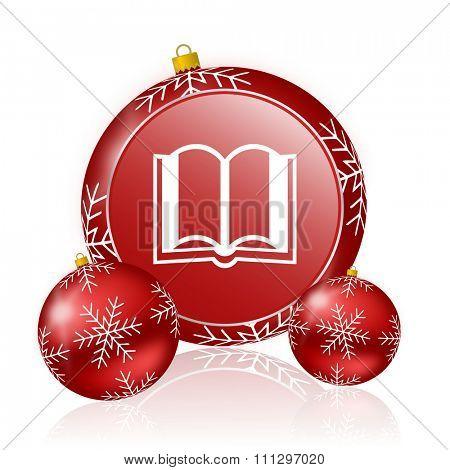 book christmas icon
