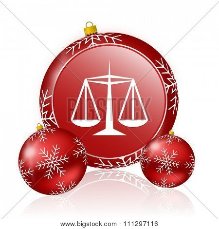 justice christmas icon