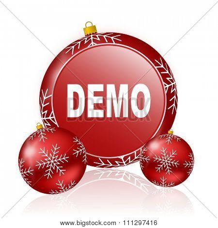demo christmas icon