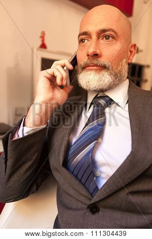 Businessman middle-aged