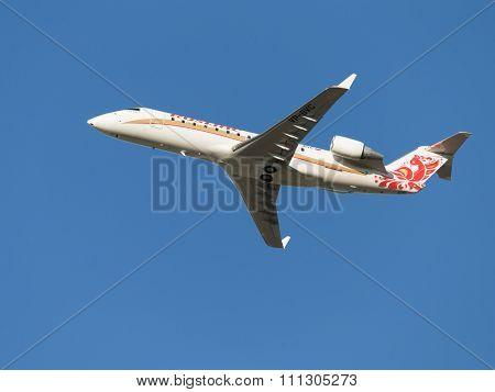 Aircraft 100 Bombardier Crj-rusline Airlines Flies