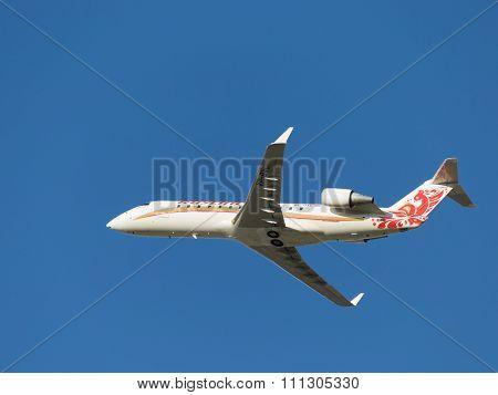 Beautiful Aircraft Bombardier Crj-100