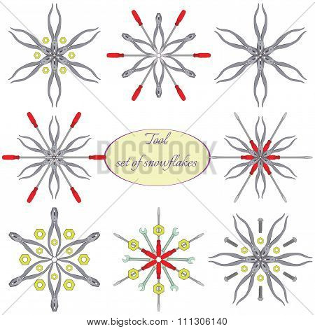 Tools in  snowflakes