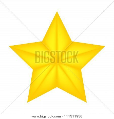 Christmas Star Of Bethlehem Vector Symbol, Icon  Design. Illustration Isolated On White Background.