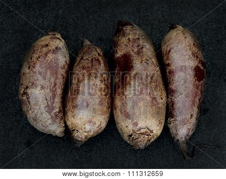 Four Beetroots In A Row