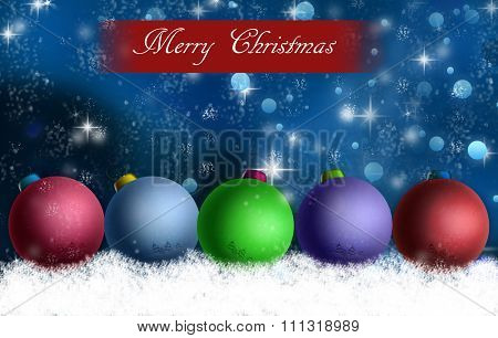 Background image of Christmas with Merry Christmas text