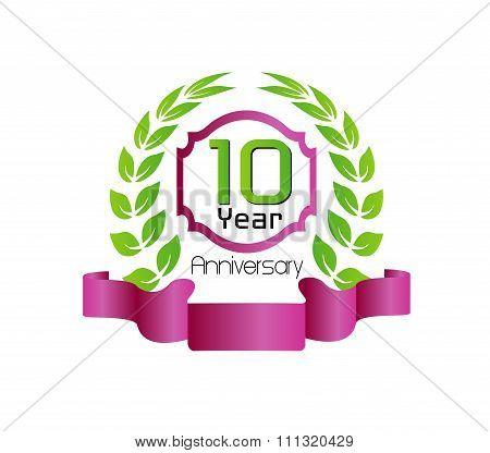 Celebrating 10 Years Anniversary