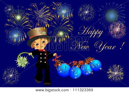 Chimney Sweep and New Year,