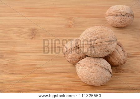 Heap Of Wallnuts