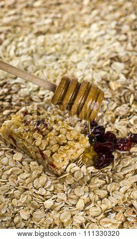 Healthy cereals background