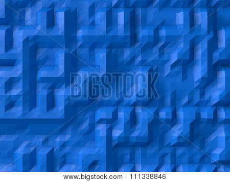 Blue Abstract Background.