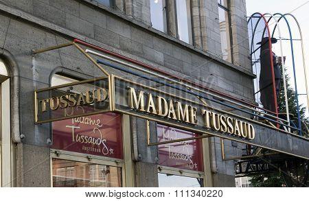 Madame Tussaud Letters