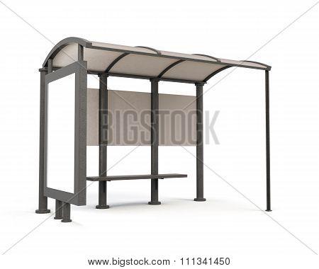 3D Bus Stop.
