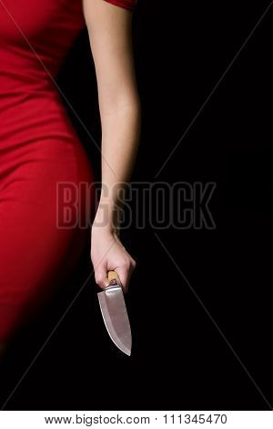 Girl With Knife