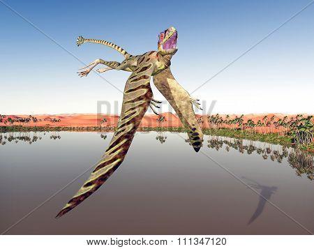 Pterosaur Peteinosaurus