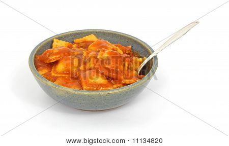 Bowl Of Ravioli