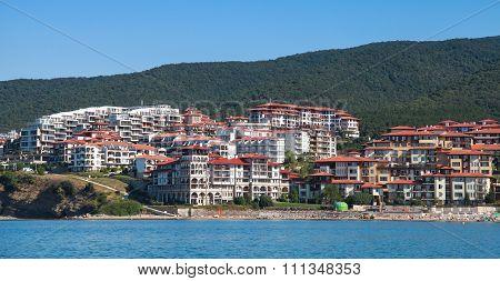 Black Sea Coast In Sveti Vlas, Bulgaria