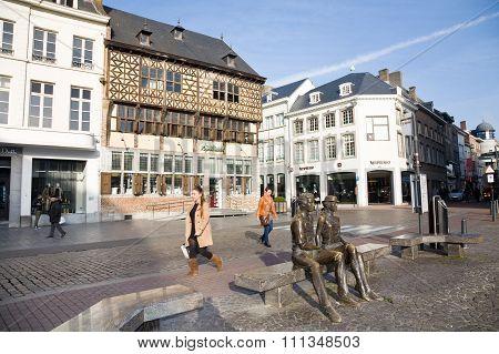 Main Square, Hasselt, Belgium