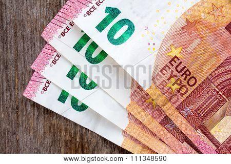 Ten Euros Notes