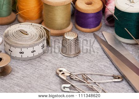 Set for sewing