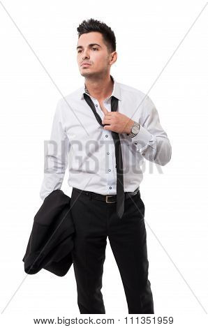 Business Man After Work.